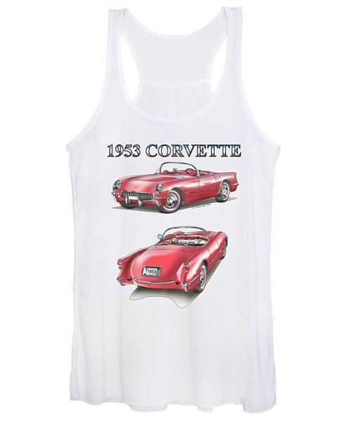 1953 Corvette Women's Tank Top