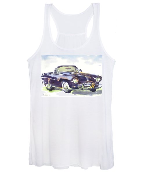 1955 Thunderbird Women's Tank Top