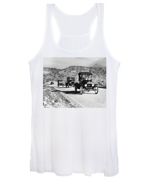 1960s Line Of 1920s Model T And 1930s Women's Tank Top