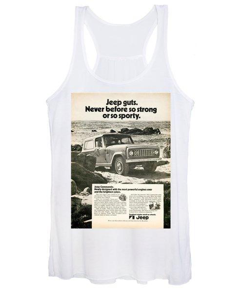 1972 Jeep Commando Women's Tank Top