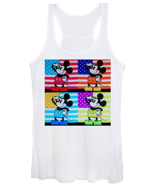 American Mickey Women's Tank Top