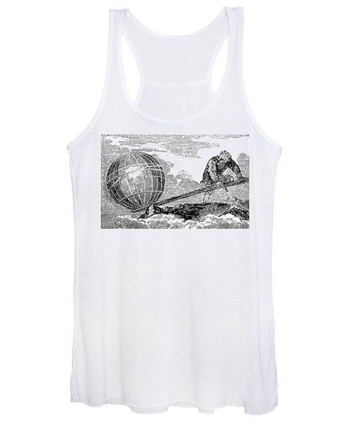 Archimedes, Ancient Greek Polymath Women's Tank Top