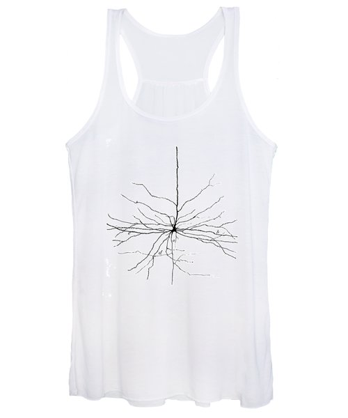 Pyramidal Cell In Cerebral Cortex, Cajal Women's Tank Top
