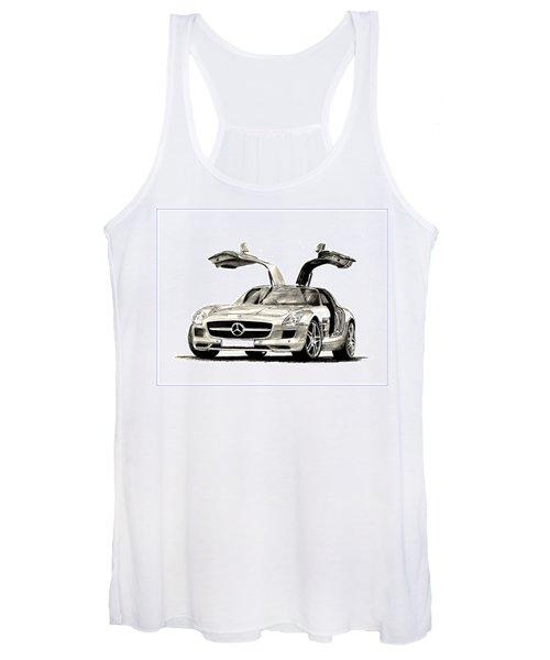 Mercedes Benz S L S Women's Tank Top