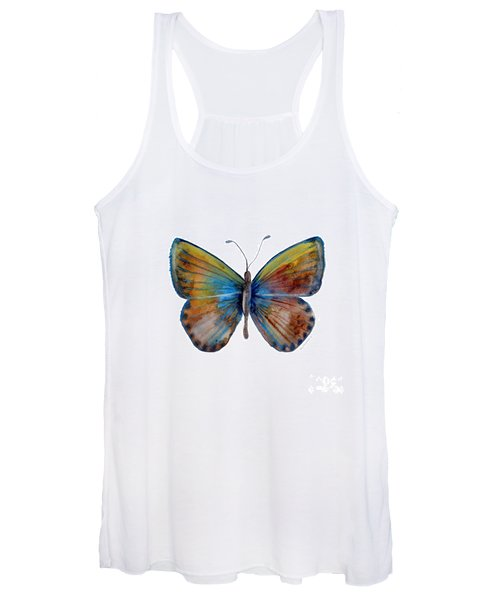 22 Clue Butterfly Women's Tank Top