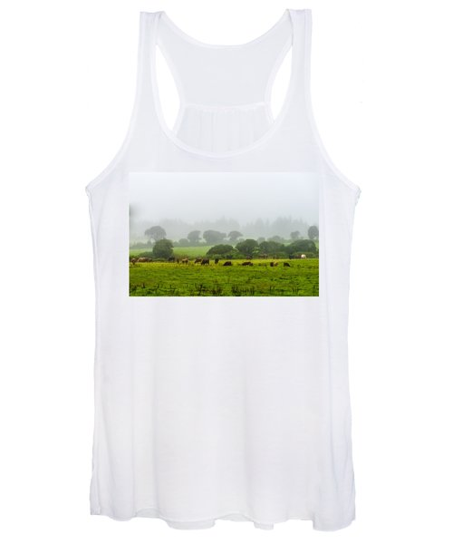 Cows At Rest Women's Tank Top