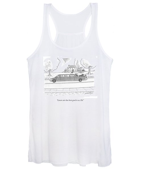 Lawn Care Has Been Good Women's Tank Top