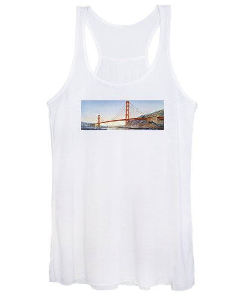 Golden Gate Bridge San Francisco Women's Tank Top