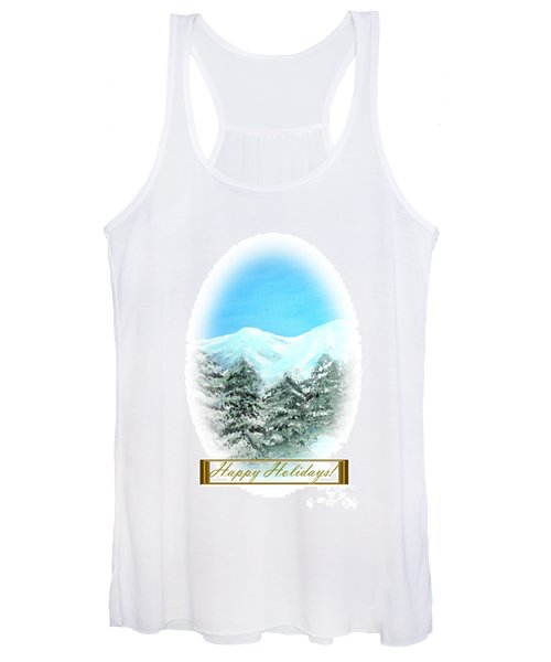 Happy Holidays. Best Christmas Gift Women's Tank Top