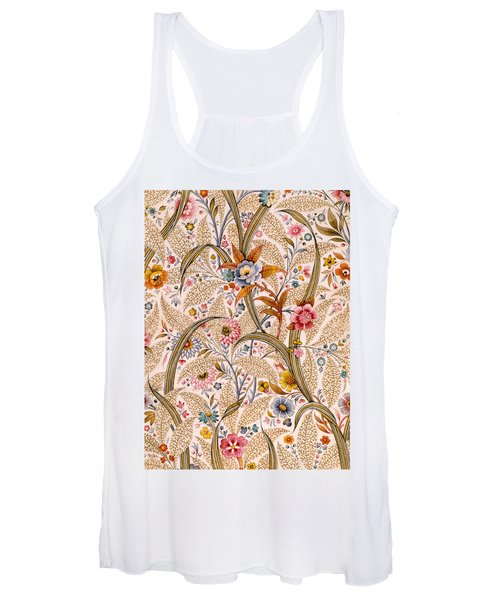 Marble End Paper  Women's Tank Top