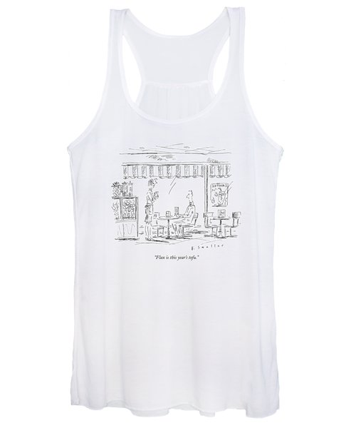 Flax Is This Year's Tofu Women's Tank Top