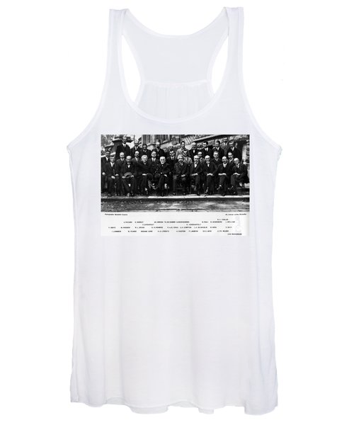 5th Solvay Conference Of 1927 Women's Tank Top