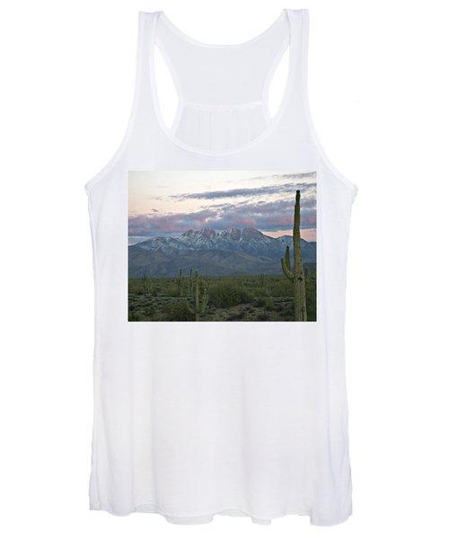 Four Peaks Sunset Snow Women's Tank Top