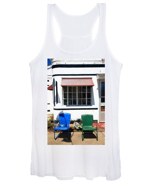 Route 66 - Boots Motel Women's Tank Top