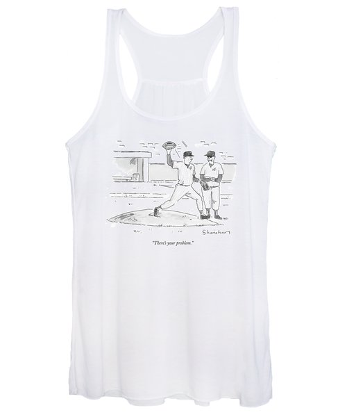 There's Your Problem Women's Tank Top