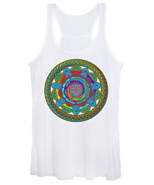 7 Fish Rainbow Yahushuah Messiah Women's Tank Top
