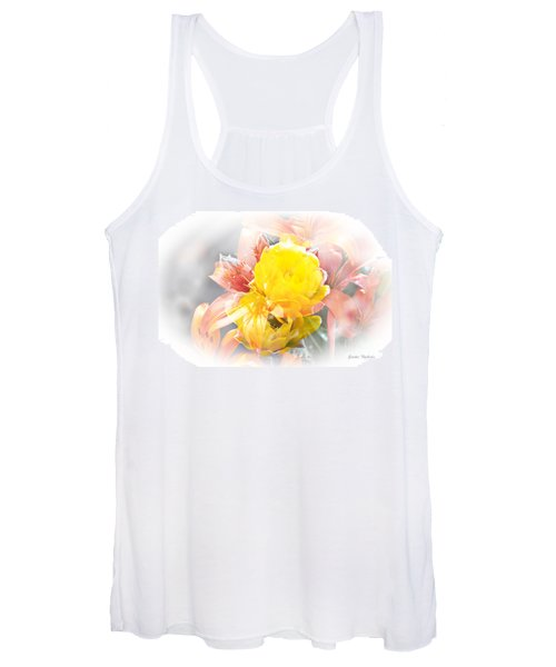 Flower Burst Women's Tank Top