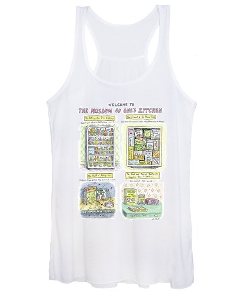 New Yorker August 13th, 2007 Women's Tank Top