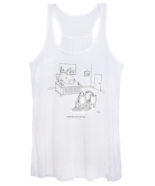 I Think This One's In The Bag Women's Tank Top