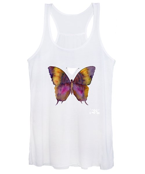 99 Marcella Daggerwing Butterfly Women's Tank Top