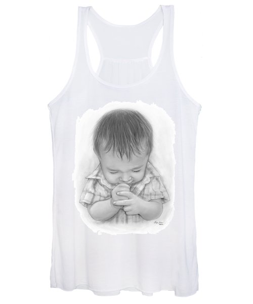 A Child's Payer Women's Tank Top