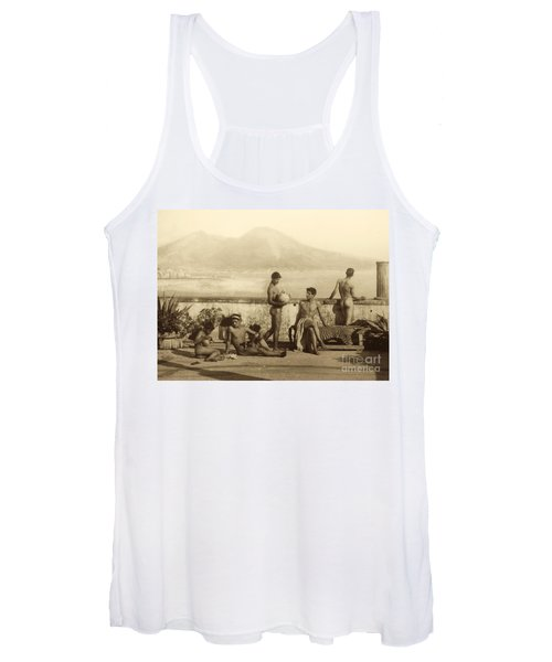 A Classical Scene In Tierra Del Fuego South America Women's Tank Top