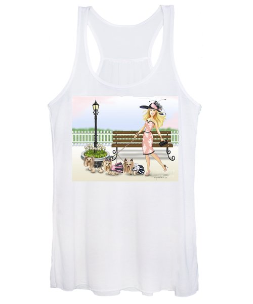 A Day At The Derby Women's Tank Top