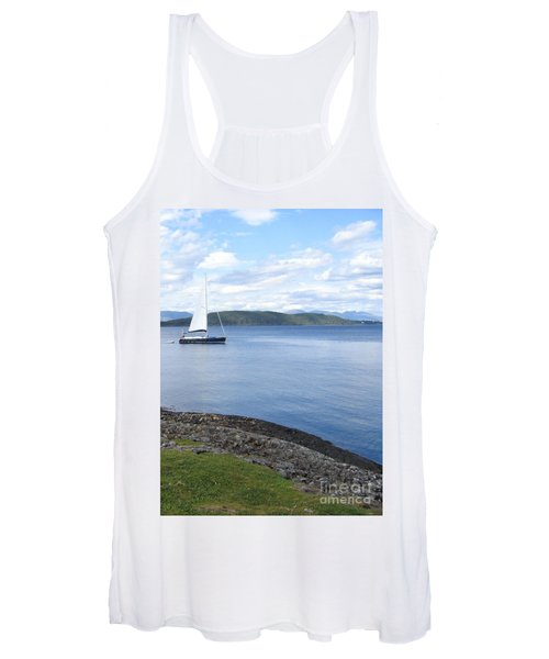 A Fine Day For A Sail Women's Tank Top