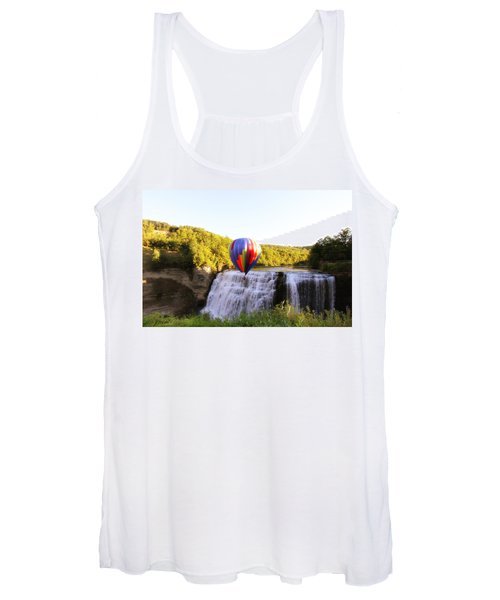 A Ride Over The Falls Women's Tank Top