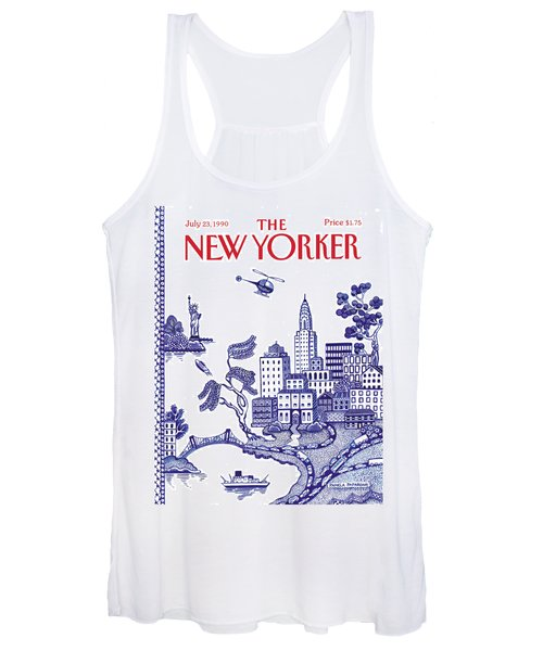 A View Of New York City Women's Tank Top