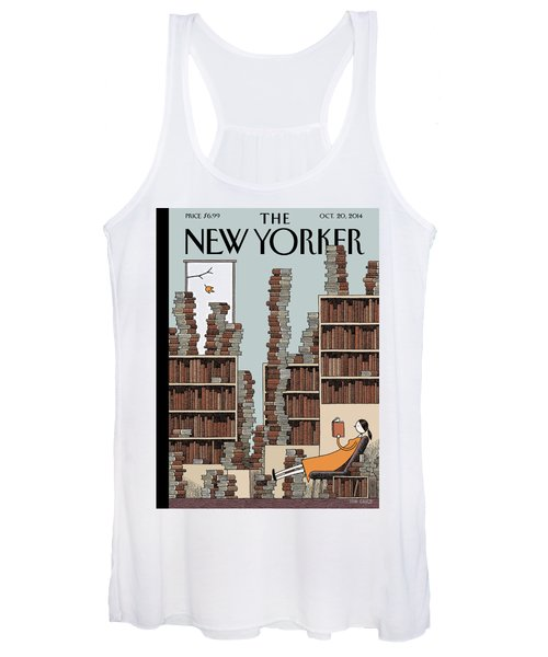 Fall Library Women's Tank Top