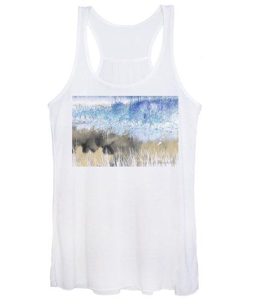 Abstract Marsh  Women's Tank Top