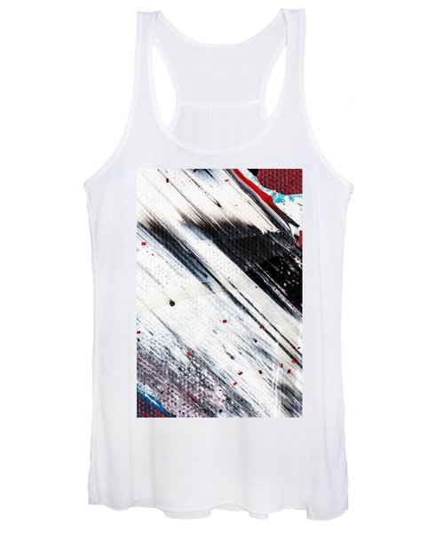 Abstract Original Artwork One Hundred Phoenixes Untitled Number Eight Women's Tank Top