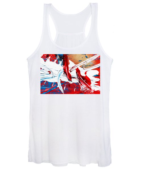 Abstract Original Artwork One Hundred Phoenixes Untitled Number Two Women's Tank Top