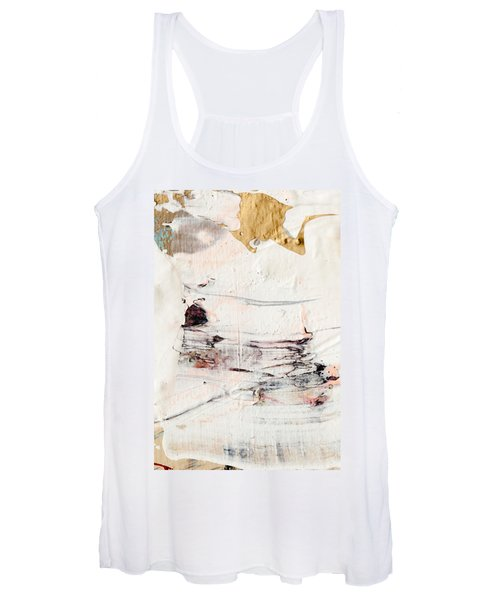 Abstract Original Painting Number Eleven Women's Tank Top