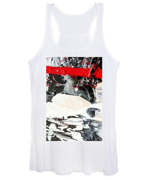 Abstract Original Painting Number Three Women's Tank Top