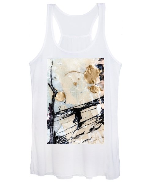 Abstract Original Painting Untitled Twelve Women's Tank Top