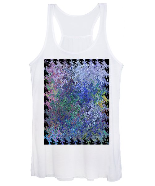 Abstract Reflections Women's Tank Top