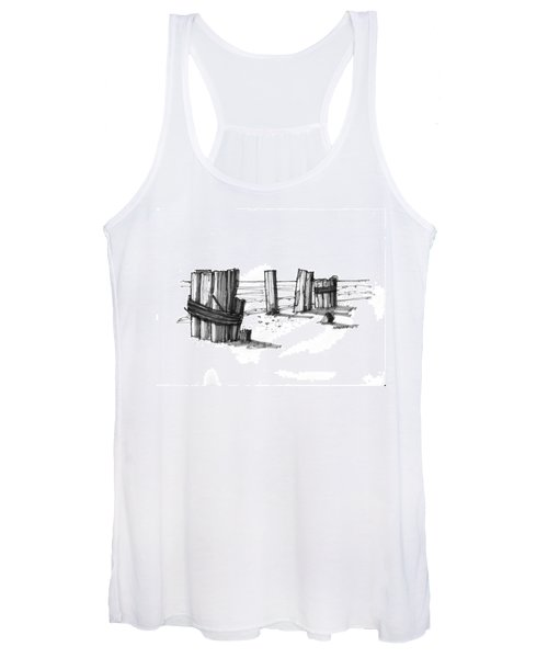 All That Remains Ocracoke 1970s Women's Tank Top