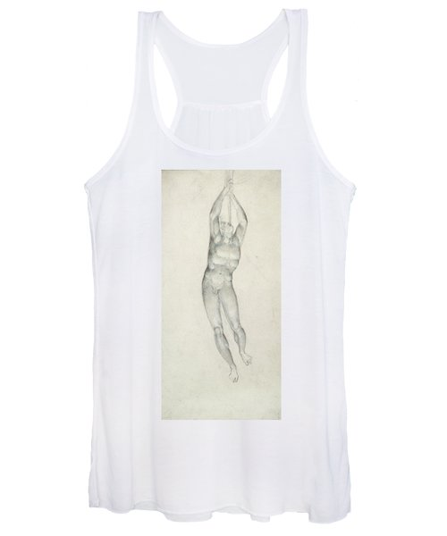 An Angel With A Trumpet Women's Tank Top