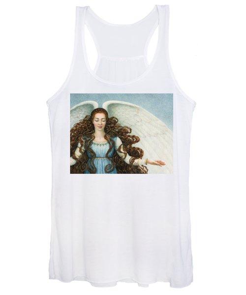 Angel In A Blue Dress Women's Tank Top