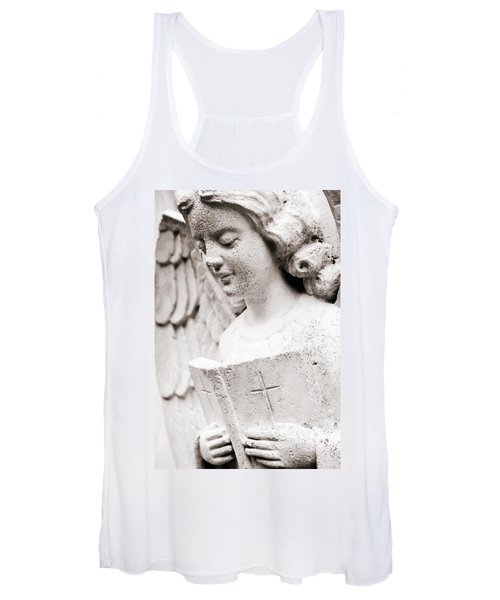 Angels Prayers And Miracles Women's Tank Top