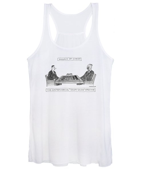 Annals Of Chess Women's Tank Top