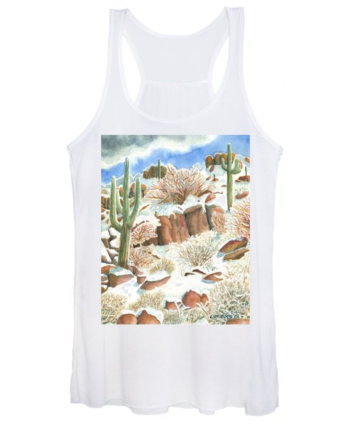 Arizona The Christmas Card Women's Tank Top