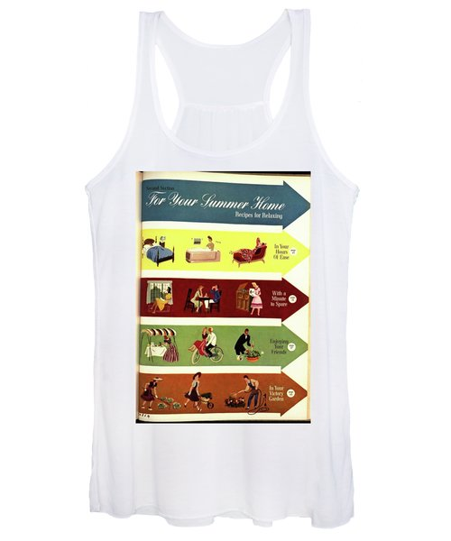 Arrows And Illustrations Women's Tank Top