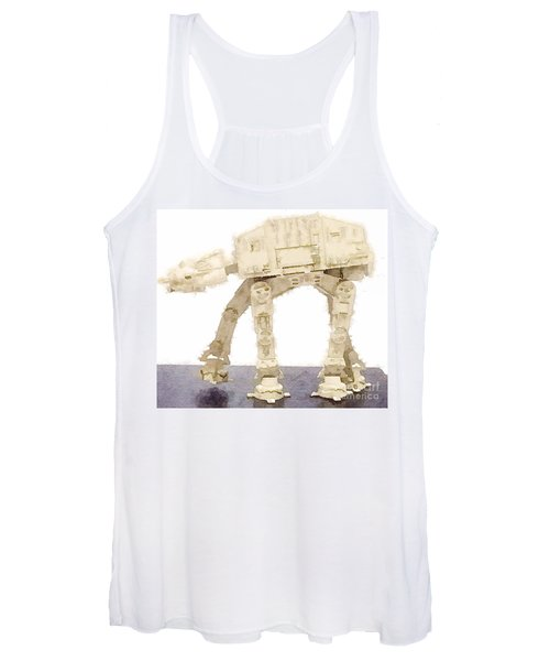 At-at All Terrain Armored Transport Women's Tank Top