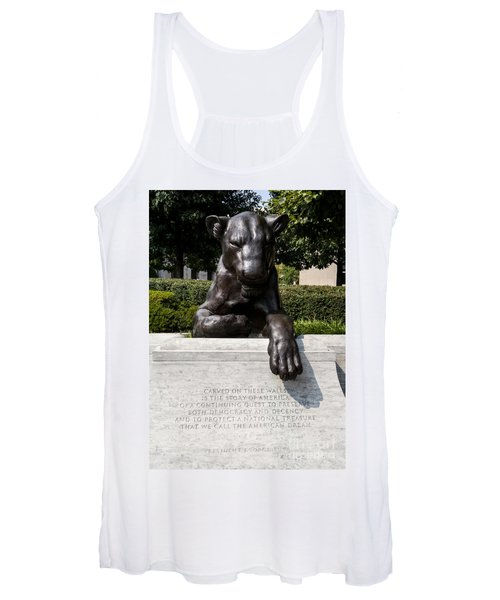 At The National Law Enforcement Officers Memorial In Washington Dc Women's Tank Top