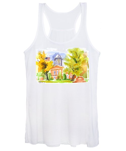 Autumn At The Courthouse Women's Tank Top