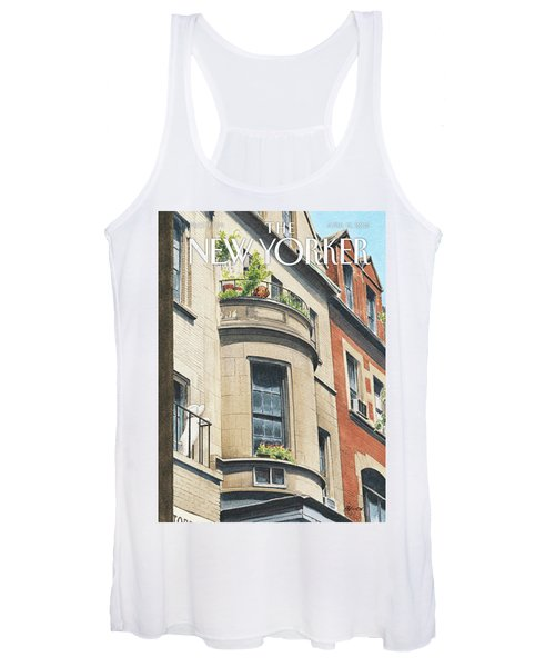 Balcony Scene Women's Tank Top