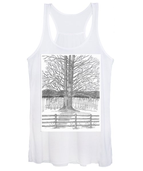 Barrytown Tree Women's Tank Top